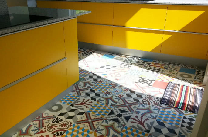carreaux de ciment en stock
