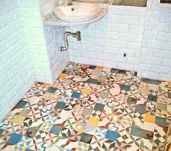 french mosaic tiles