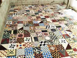 mexican cement tiles