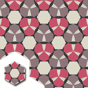 encaustic carreaux de ciment HEX004